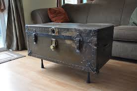 Black Trunk Coffee Table by Steamer Trunk Coffee Table Toronto Coffee Addicts
