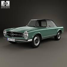3d class price mercedes sl class w113 1963 3d model from humster3d