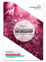 free flyer templates for your church or spiritual event promotion