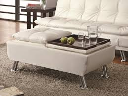 Leather Ottoman Tray by Ottomans Furniture Max