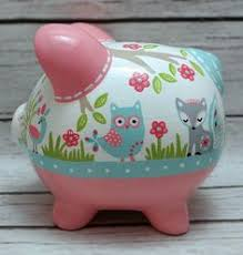 Customized Piggy Bank Your Gift Recipient Will Be All Aflutter When They Open This Hand