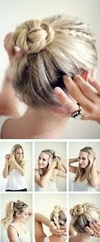 hairstyles for medium length hair with braids 16 pretty and chic updos for medium length hair pretty designs