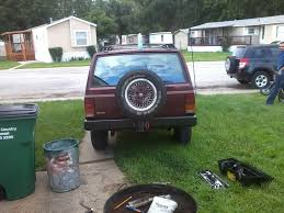 jeep comanche spare tire carrier receiver hitch spare tire carrier jeep cherokee forum