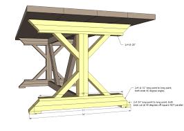 Best 25 Farmhouse Table Plans by 10 Foot Farmhouse Table Plans Unique Table Decoration