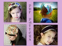yoga headband tutorial adult childrens bandana headband pattern fabric headband