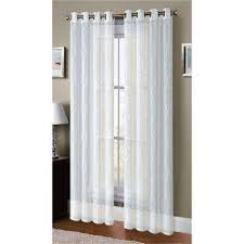 sheer window treatments sheer curtains drapes window treatments the home depot