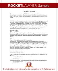 sample tenancy contract tenancy contract template microsoft word