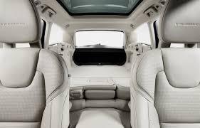 volvo v90 studio folding rear seats volvo car group global media
