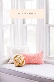 knot pillows diy knot pillow tutorial ruffled