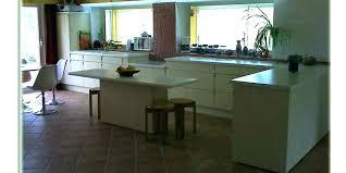 fa軋de de cuisine sur mesure facade cuisine sans porte sur mesure de massif mee home improvement