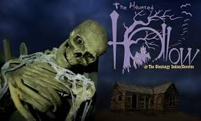 The Haunted Hollow At Olentangy Indian Caverns Columbus Deal Of