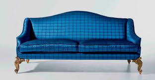 Classic Sofa  Fabric  Seater  Blue MG  OAK DESIGN - Classic sofa design