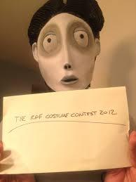 corpse bride 2012 halloween costume contest entry