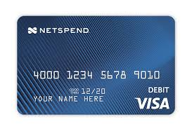 prepaid international debit card prepaid debit cards for personal commercial use netspend