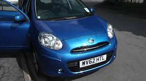 nissan micra active india wu62htl used nissan micra acenta in active blue at wessex garages
