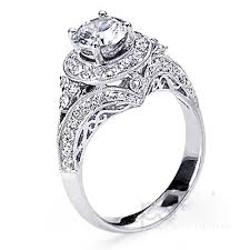 womens engagement rings brilliant cut diamond engagement ring with diamond halo