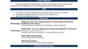 General Resume Template Microsoft Word Resume Professional Resume Word Template Cv Resume Template