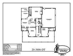 free log house plans for single level homes free home plans