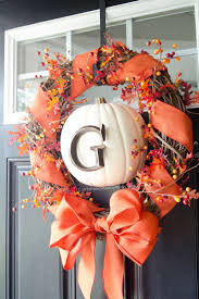 Homemade Thanksgiving Decorations by Top 25 Best Diy Fall Wreath Ideas On Pinterest Fall Wreaths