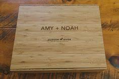 wedding albums nyc new york wedding album leather panoramic with custom bamboo
