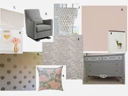 Pottery Barn Kids Chandelier by Pink Gray And Gold Nursery Moodboard Its A Pretty Prins Life