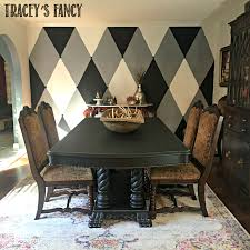 dining room makeovers brown to black dining room makeover tracey u0027s fancy