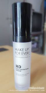 Professional Makeup Artist Websites Make Up Forever Hd Primer Just Bought It Love It U0026 To All My
