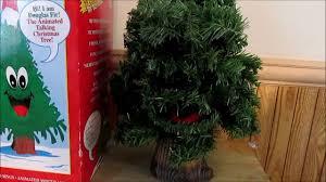 1996 gemmy douglas fir the talking christmas tree 18