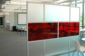 8 u0027 screen with translucent u0026 frosted acrylic panels 8 u0027 divider