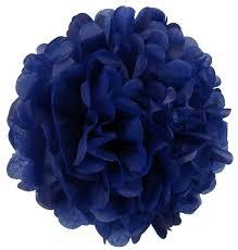 royal blue tissue paper tissue paper pom pom flower 12inch royal blue