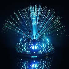 lead fiber optic butterfly light lead fiber optic