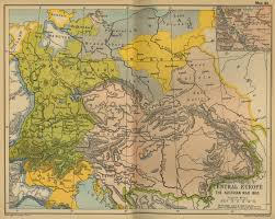 Map Of Austria And Italy by Battle Of Wagram 1809 Napoleon Archduke Charles Schlacht