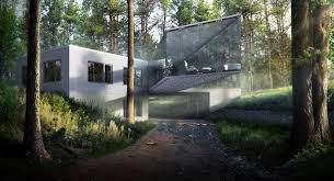 forest house forest house modeling flyingarchitecture