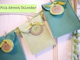 calendário varal para o natal advent calendars felt advent