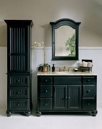 Black Bathroom Cabinet Pleasant Black Bathroom Vanities And Cabinets With Inspirational