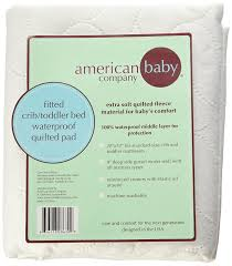 amazon com american baby company waterproof fitted crib and