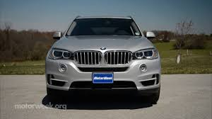 Bmw X5 40e Mpg - motorweek road test 2016 bmw x5 xdrive40e youtube