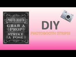how to make a photo booth strip using microsoft word easy youtube