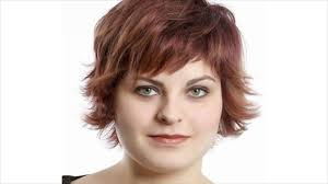 overweight with pixie cut what is the best short style for a round full face youtube