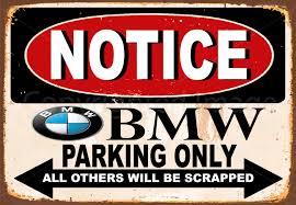 bmw car signs bmw cars metal tin signs bmw cars repair service tin signs