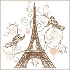 Eiffel Tower Ornaments Illustration Of Eiffel Tower Royalty Free Cliparts Vectors And