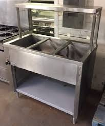 steam table with sneeze guard 3 well steam table with sneeze guard