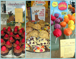 children u0027s book themed food desserts u0026 beverages my sister is