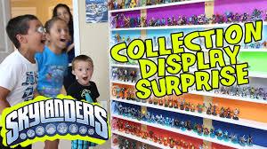 skylanders collection display surprise ultimate toy storage
