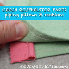 upcycle diy couch reupholster project part 2 eve of reduction