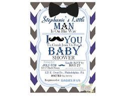 mustache baby shower invitations mustache and bow tie baby shower invitations theruntime