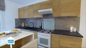 renover porte de placard cuisine rénovation de meuble de cuisine en placage bois sur m6 stickwood