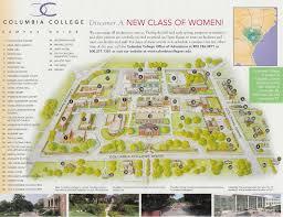 Columbia Sc Map Columbia University Campus Map Afputra Com
