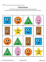 shapes color code square triangle rectangle diamond color