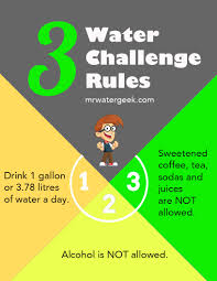 How Does Water Challenge Work 30 Day Water Challenge Water Challenge Water